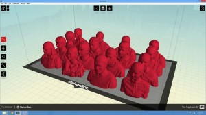 Prepared models in MakerWare
