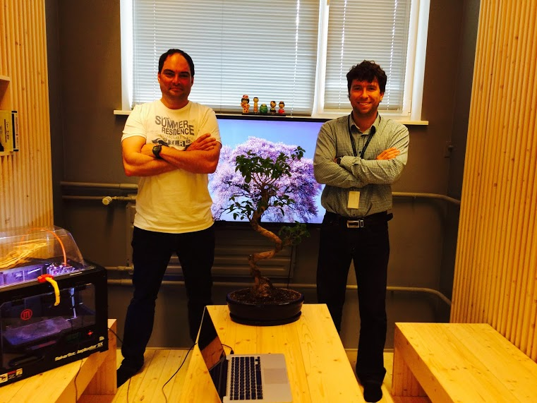 CEO John Dogru - CTO Anton Vedeshin - 3D Control Systems